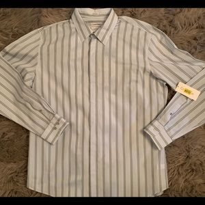 Calvin Klein Men's Button Front Shirt XL